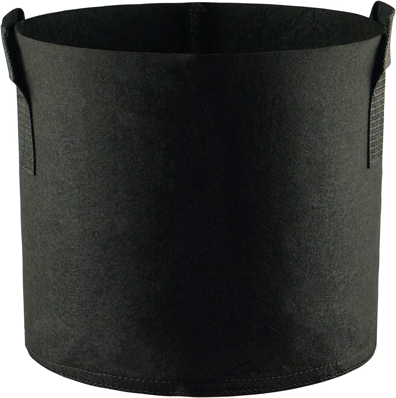 JH3 Grow Bags 3 Gallon Grow Pots 5 Pack with Handles with Black Heavy Duty Thickened Nonwoven Fabric Plant Pots Suitable for Planting in patios Gardens can be Used to Plant Vegetables Fruits Flower