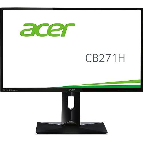 Acer CB271HBMIDR LED Écran 27 pouces 1920  x 1080 60Hz 1ms (VGA / DVI / HDMI), Noir