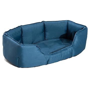 PawHut Cama para Perros y Gatos Impermeable y Lavable Tipo Colchón de Tela Oxford para Mascotas 90x70x28cm Color Azul: Amazon.es: Jardín