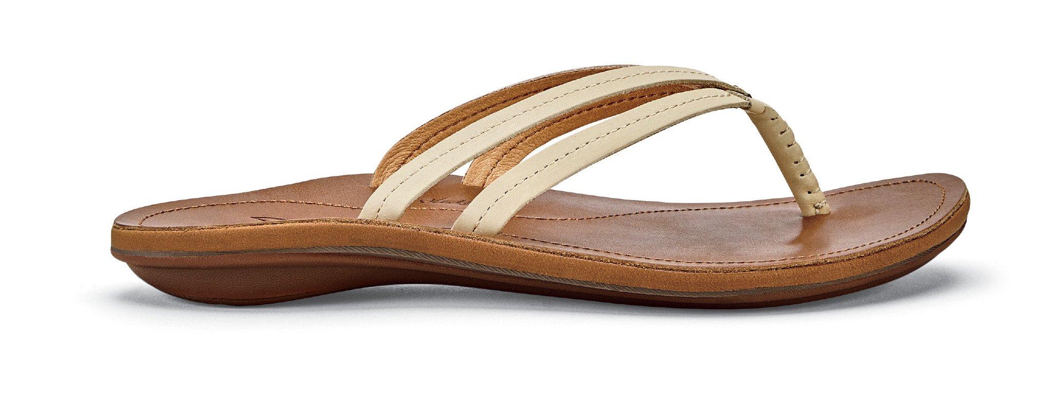 OLUKAI U'I Sandals - Women's Tapa/Sahara 9