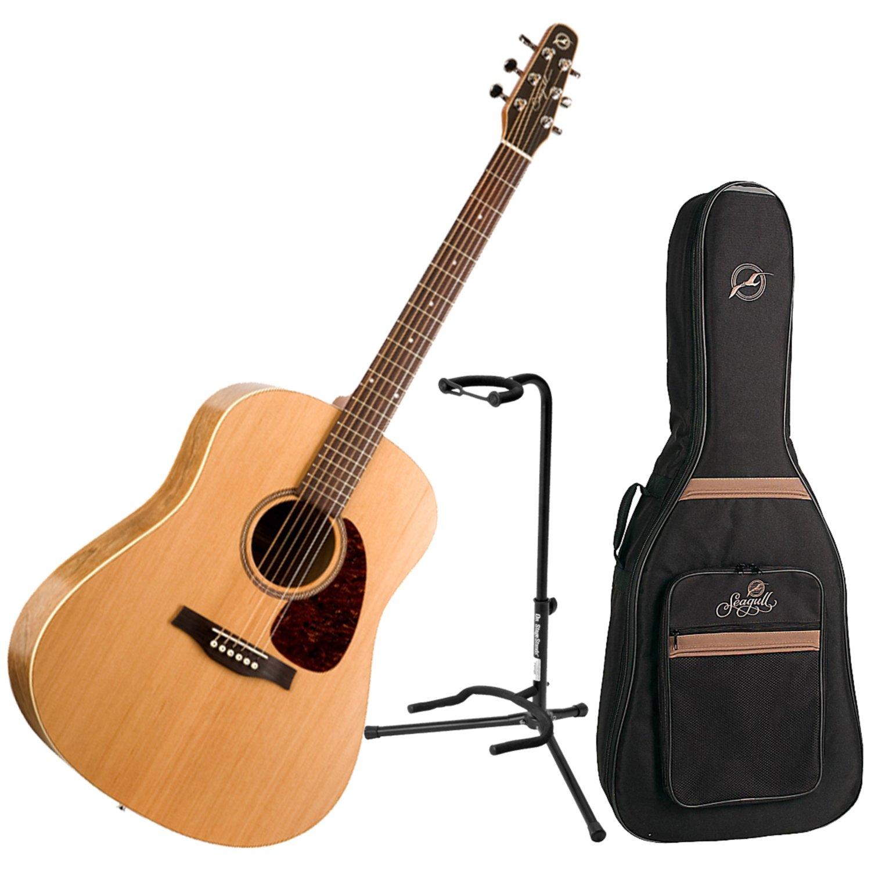 seagull s6 slim acoustic guitar w free seagull guitar