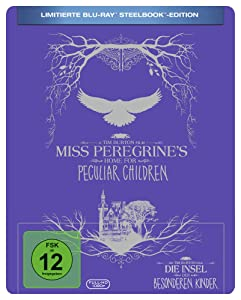 Miss Peregrine's Home for Peculiar Children Steelbook [Blu-Ray] (English audio. English subtitles)