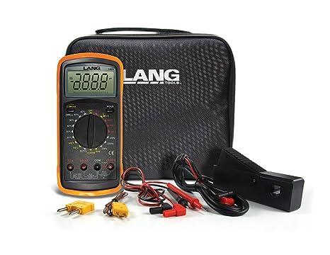 Automotive Digital Multimeter : Amazon lang tools automotive digital multimeter automotive