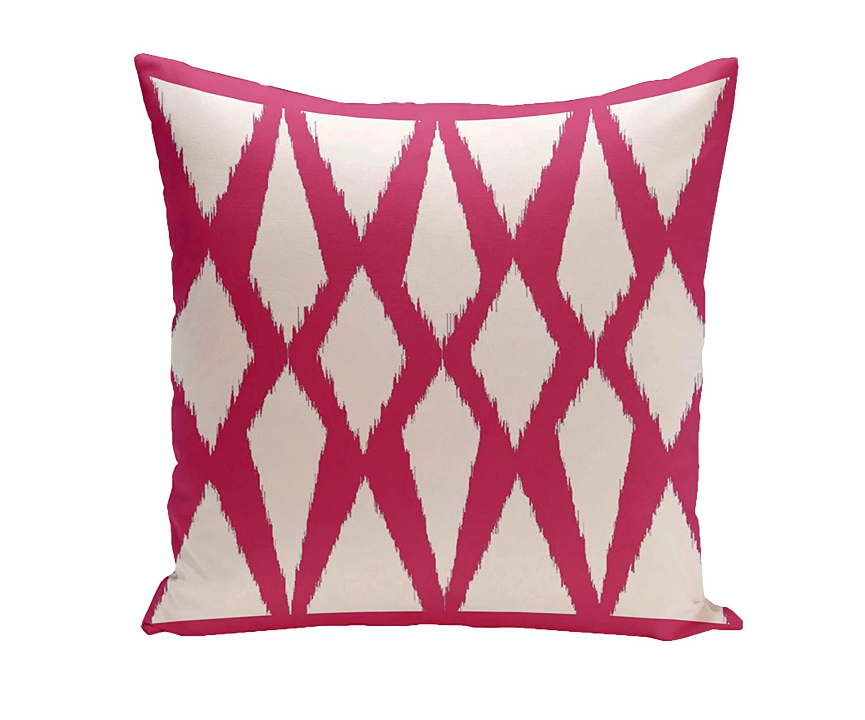 Amazon Com E By Design Geometric Decorative Outdoor Pillow 20 Inch