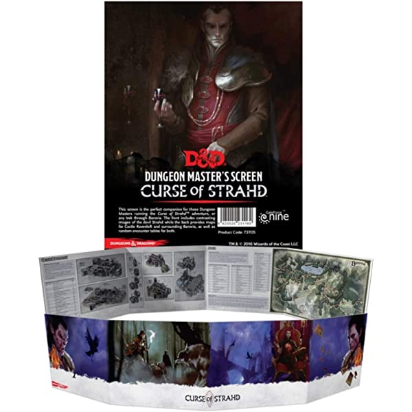 Curse of Strahd Tarokka: Wizards Rpg Team: Amazon com au: Books
