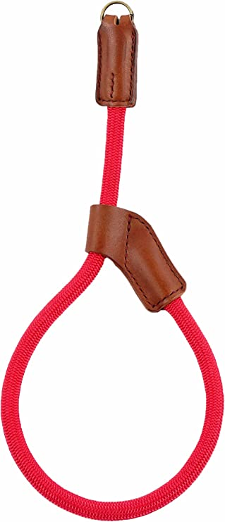 ATTO Quick Release Camera Hand Strap Wrist Strap for SLR DSLR Digital Mirrorless Cameras Adjustable Climbing Rope Red
