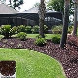 yardwise landscape rubber mulch 75 cuft palletmocha brown color - Black Rubber Mulch