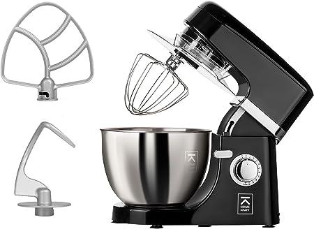 Home Fuerza Rotary simple Robot de cocina Masa Máquina eléctrica para amasar Licuadora eléctrica: Amazon.es: Hogar