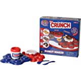 Nestle Crunch Donut Maker Toy Activity Set Using Microwave Baking - DIY Make Your Own Delicious Treat - Edible Sweet Art