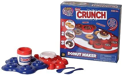 Amazon amav toys nestle crunch donut maker toy activity set amav toys nestle crunch donut maker toy activity set using microwave baking diy make your solutioingenieria Gallery