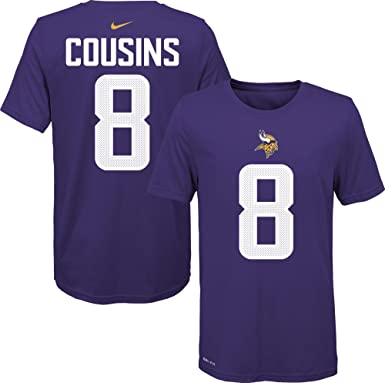 NFL Youth 8-20 Team Color Alternate Dri-Fit Cotton Pride Player Name and Number Jersey T-Shirt