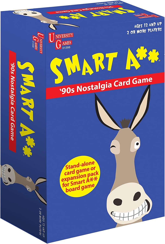 Smart A 90s Nostalgia Card Game University Games
