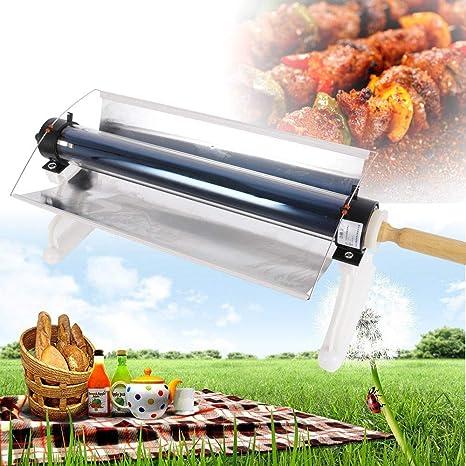 Z Estufa portátil Acero Inoxidable Horno de Cocina Solar Cocina sin Combustible Parrilla para Barbacoa al Aire Libre para Acampar: Amazon.es: Jardín