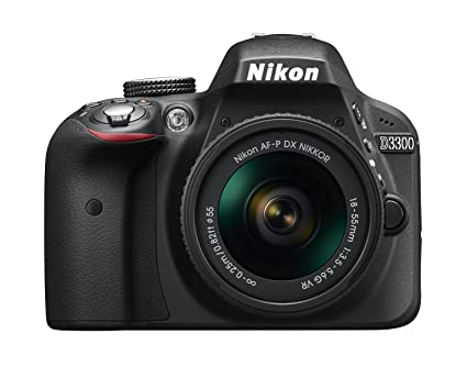 Nikon D3300 + 18-55 AFP DX VR - Cámara réflex digital de 24,2 Mp ...