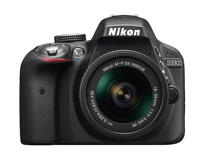 Nikon D3300 + 18-55 AFP DX VR - Cámara réflex digital de 24,2 Mp (pantalla LCD 3