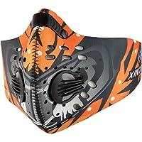 Skysper Masque de Protection Respiratoire Masque Anti-Pollution Thermique Coupe-Vent Anti-Poussière pour Sport Moto Vélo Activités en Plein air