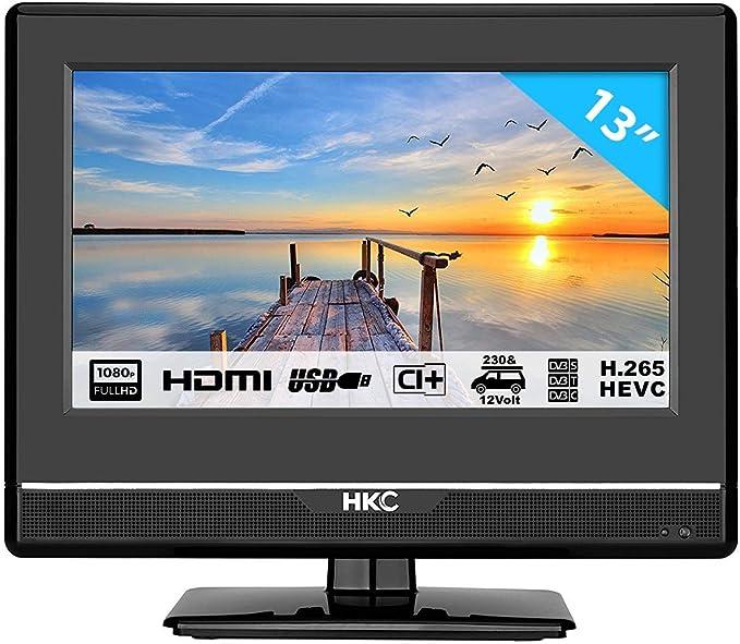 HKC 13M4: Televisor LED de 33,8 cm (13 Pulgadas) (Full HD, Triple ...