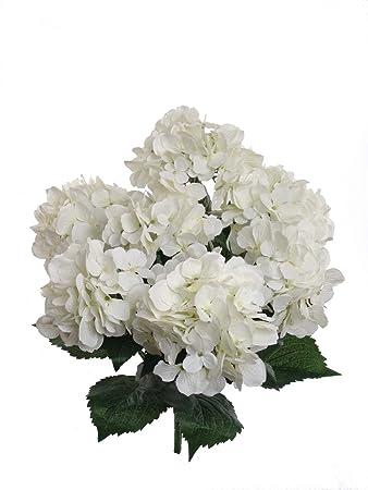 Amazon.de: ANKKO künstliche Hortensie Seide Blume Blumenstrauß ...