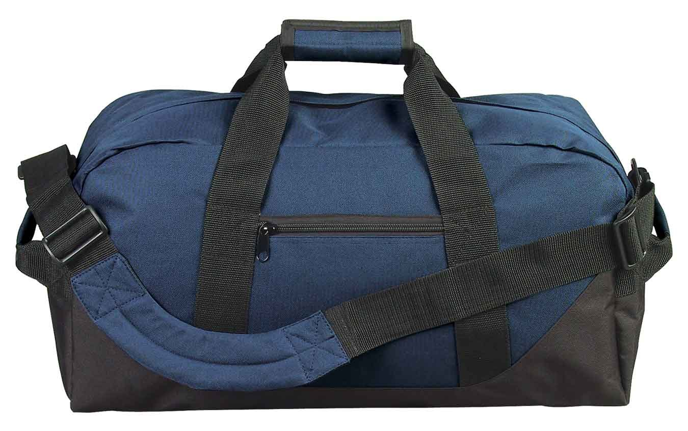 21'' Large Duffle Bag in Navy Blue