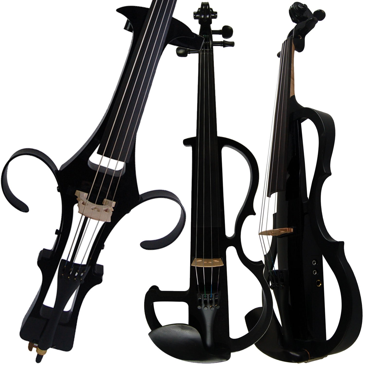 Aliyes Handmade Professional Solid Wood Electric Cello 4/4 Full Size Silent Electric Cello-1802