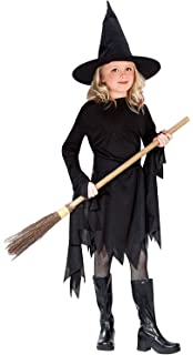 Classic Witchy Witch Black Child Costume Small (4-6)
