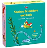 Gibsons Snakes and Ladders and Ludo Children's Game
