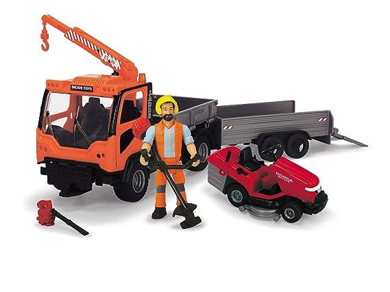 Dickie- Vehículo de Juguete con Figura y Accesorios ...