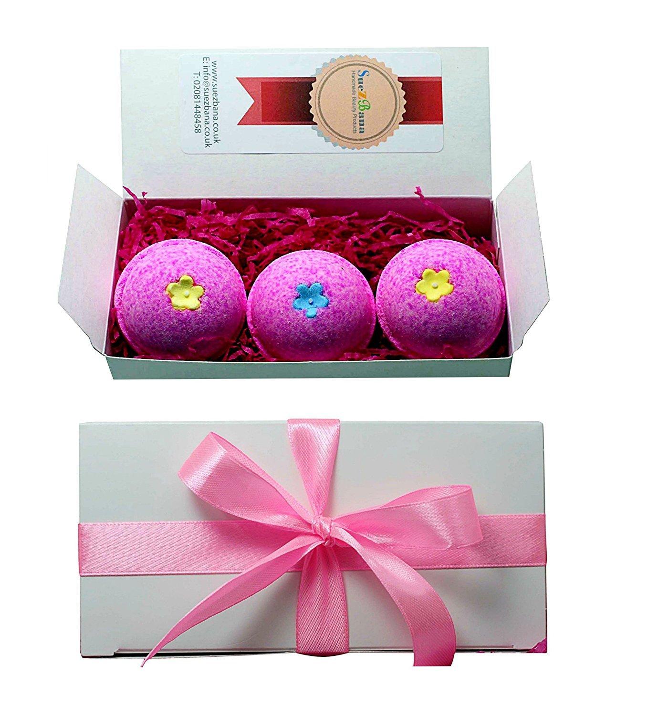 Suezbana Ifeme, set regalo di bombe da bagno piccole, colore rosa Total Beauty Ltd