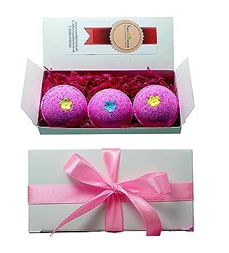 Suezbana Ifeme Bath Bomb Little Pink Gift Set: Amazon.co.uk: Beauty