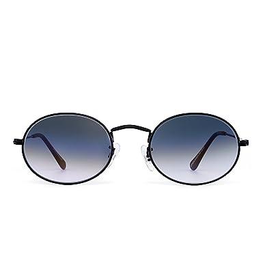 JIM HALO Retro Pequeña Redondo Gradiente Gafas de Sol ...