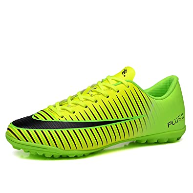 BADIER Kids Soccer Shoes Men Indoor Outdoor Football Boots Athletic Turf  Mundial Team Cleat Running Sports 4f3faadd6bc89