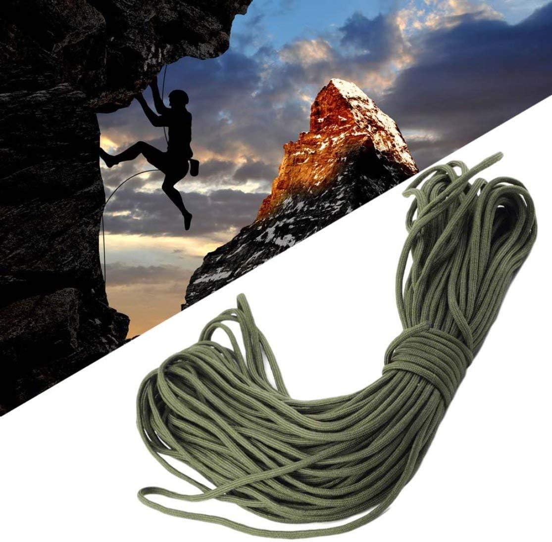 Kaemma 10 Farben 550 Fallschirmschnur Lanyard Seil Mil Spec Typ III 7 Core Strang 101FT Klettern Camping Survival Equipment