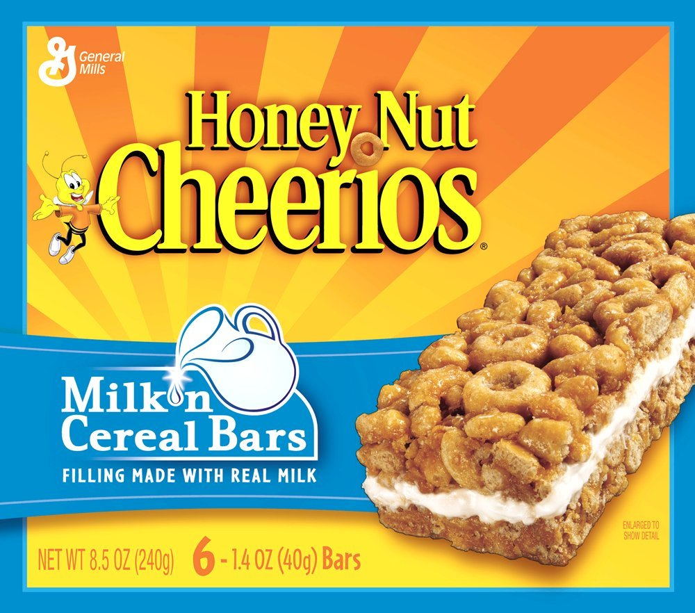 Frosties Cereal Bar Nutrition Facts