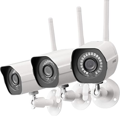 Zmodo WiFi IP Security Camera 3 Pack
