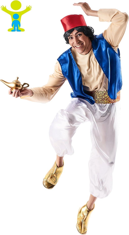 Disfraz de Aladino Fajín para hombre: Amazon.es: Juguetes y juegos
