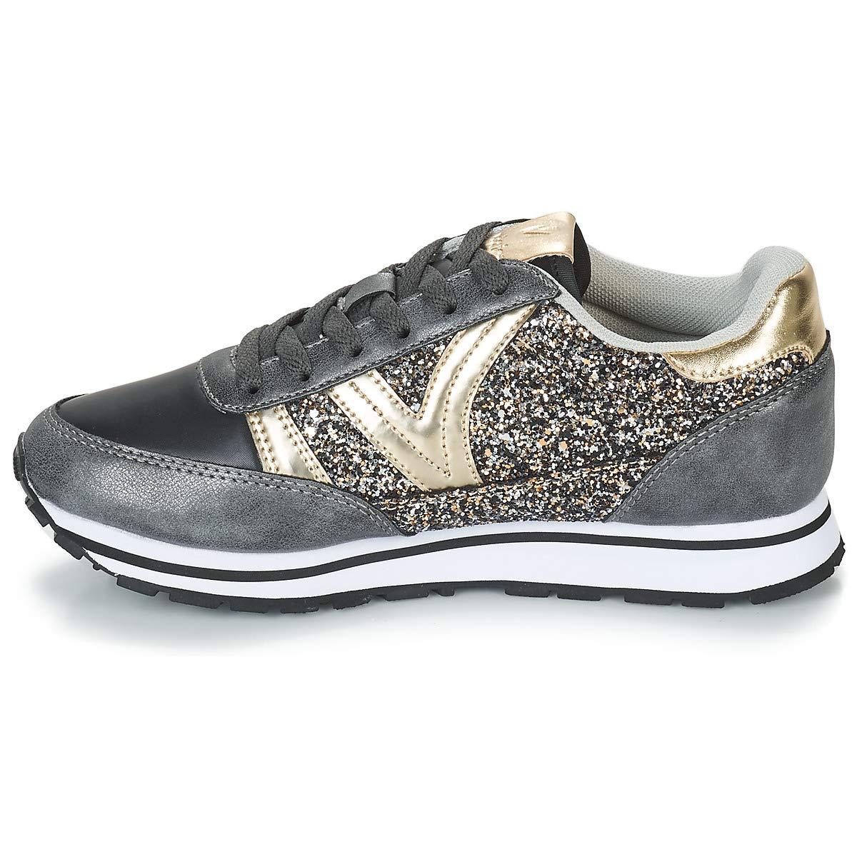 Victoria Victoria Victoria Jogging Glitter schwarz 141113schwarz Turnschuhe f28800