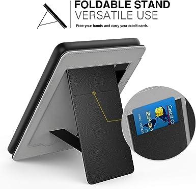 8th Generation, 2016 Oro Rosa MoKo Funda Compatible con All-New Kindle // Kindle 10th Generation, 2019 Standing Origami Slim Shell Funda con Auto Sue/ño//Estela