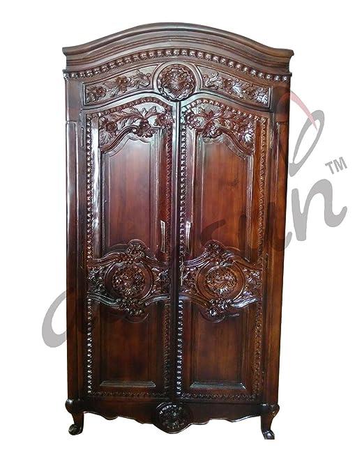 Aarsun Wooden Almirah Wooden Furniture Wood Wardrobe Amazon In