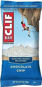 CLIF BAR - Mini Energy Bars - Chocolate Chip - (0.99 Ounce Snack Bars, 20 Count)