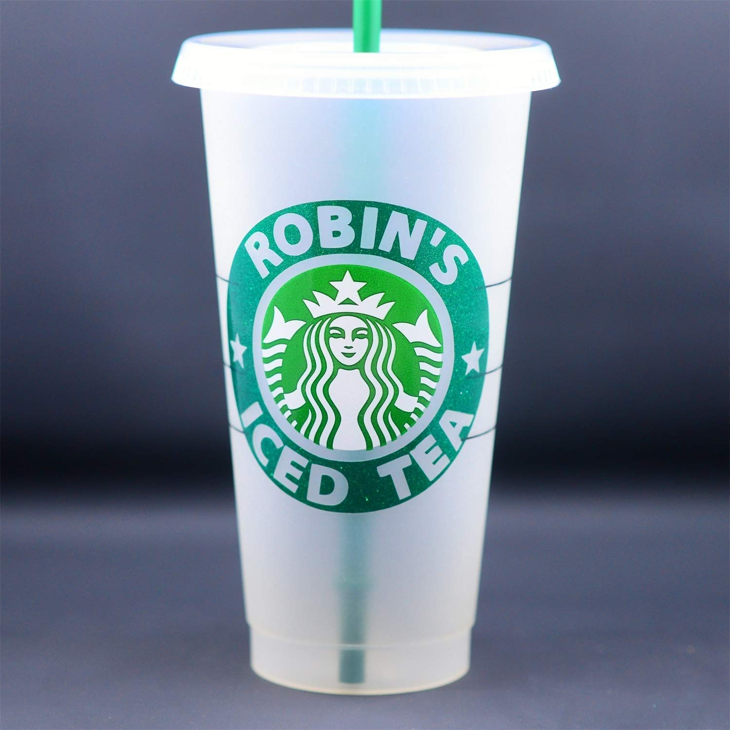 Personalized Starbucks Cup Frosted Venti 24 Oz To Go Cup Tumbler Glitter Or Matte Ships Free Custom Starbucks Lover Gift You Name It