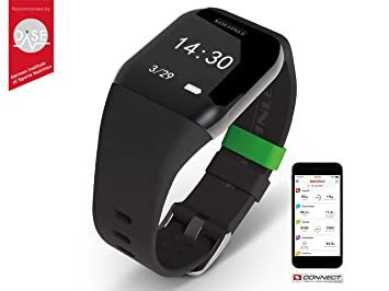 Soehnle Fit Connect 300 HR Monitor de Actividad con Bluetooth, Negro: Amazon.es: Deportes y aire libre