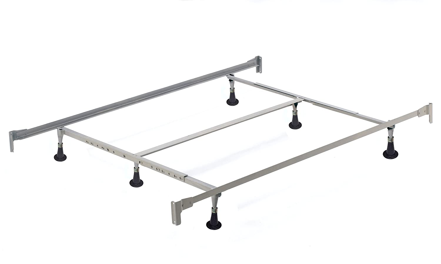 sc 1 st  Amazon.com & Amazon.com: Hillsdale 6 Leg Queen/King Bed Frame: Kitchen u0026 Dining