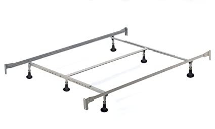 Amazon.com: Hillsdale Furniture 6 Leg Queen/King Bed Frame