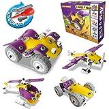 Juguetes de Niños Juegos de Construcción,CARLORBO 100 piezas Establece Juguetes para niños de 5 años de edad y las niñas