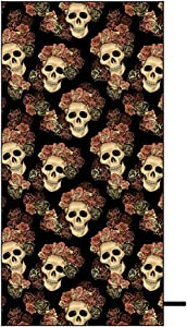 Skull and Rose Sandless Beach Towel Sweepstakes