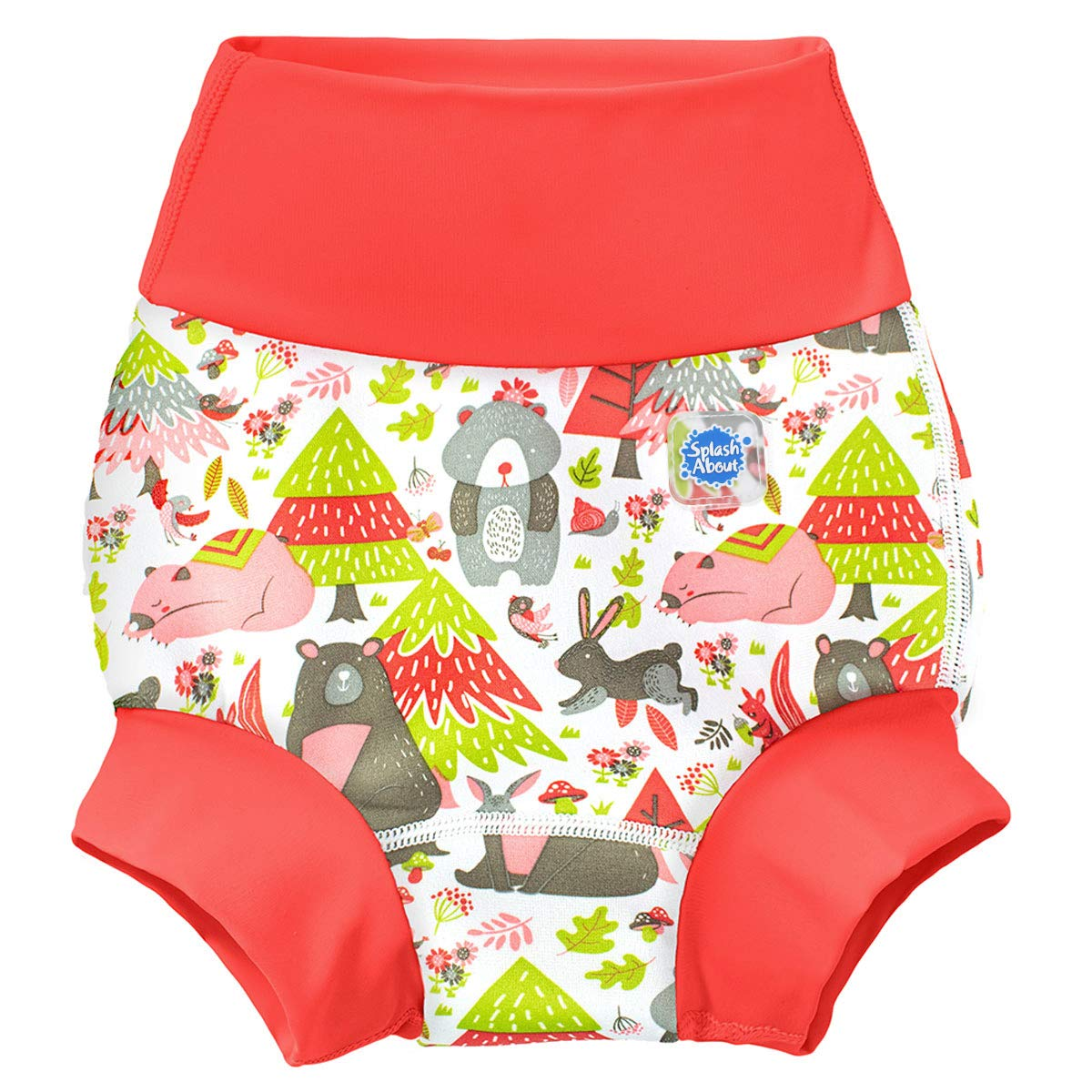 ,12-24 months Splash About Baby Kids New Improved Happy Nappy,Multicoloured Into the Woods