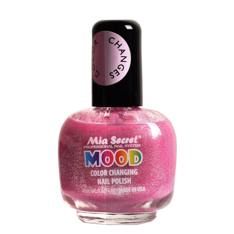 Amazon.com : Mia Secret Mood Nail Lacquer Color Changing Nail Polish ...