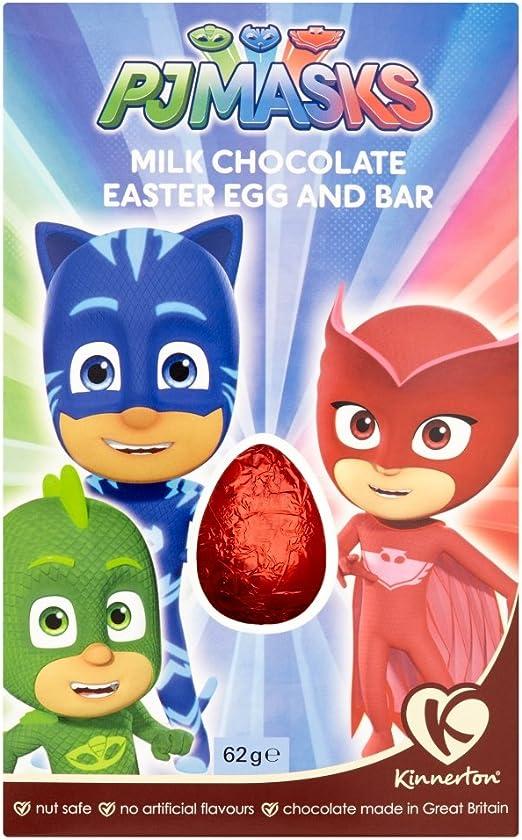 PJ Mask: barrita de huevo de Pascua y chocolate con leche, 62 ...