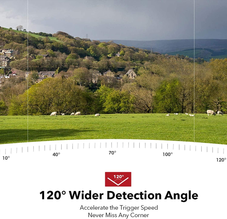 Usogood cámara de Vida Silvestre 14MP 1080P no resplandor Cámara Trail con movimiento de visión nocturna
