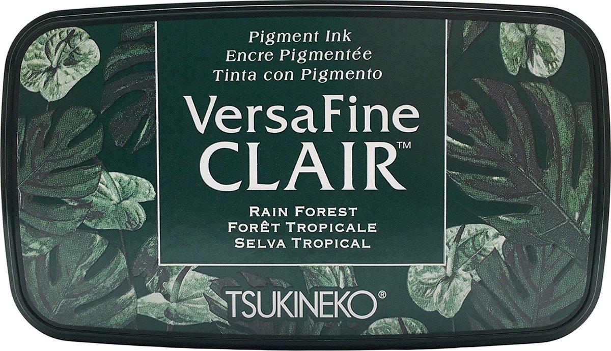 Tsukineko Rain Forest Full Size Ink Pad VersaFine Clair